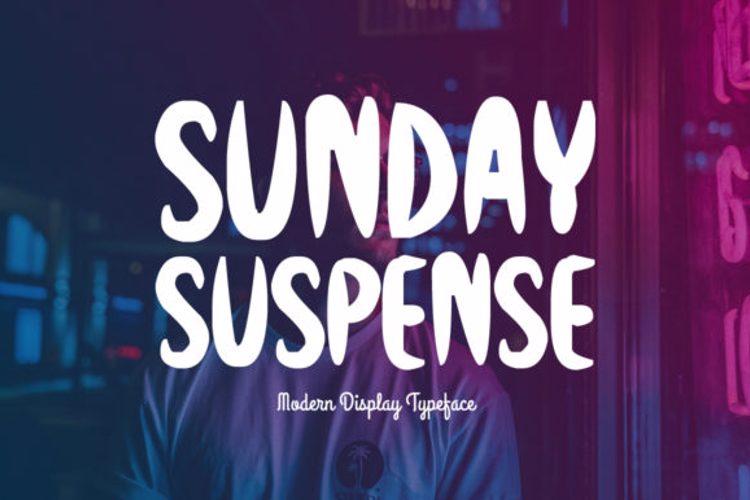 Sunday Suspense Font