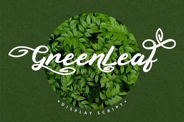 Greenleaf Font