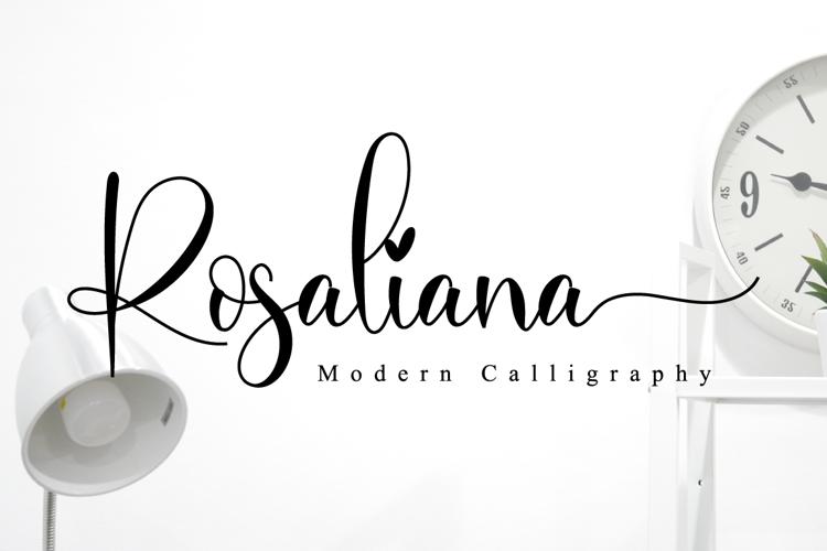 Rosaliana Font