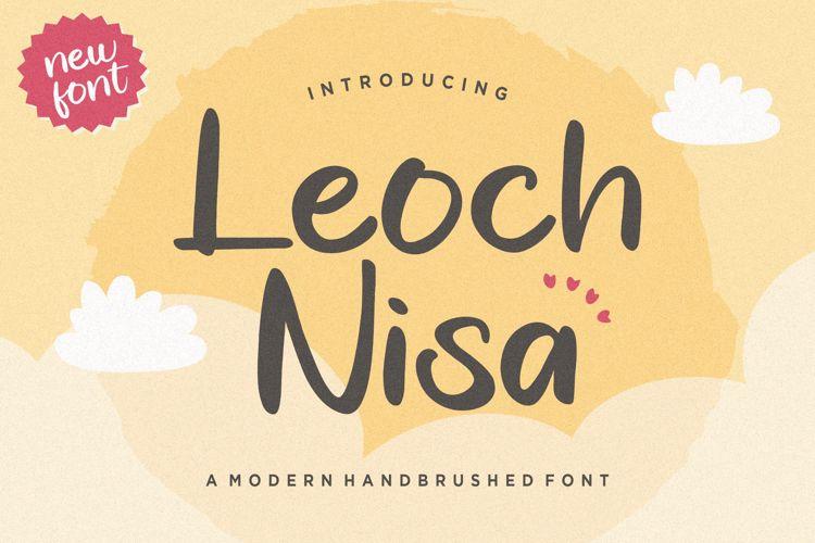 Leoch Nisa Font