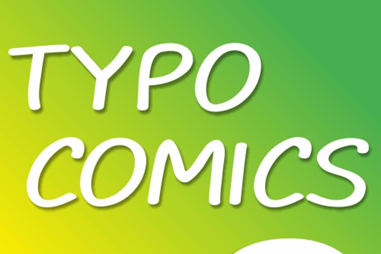 TYPO COMICS DEMO Font