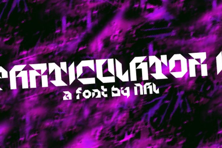 Particulator II Font
