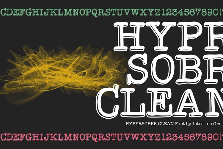 HypersoberClean Font