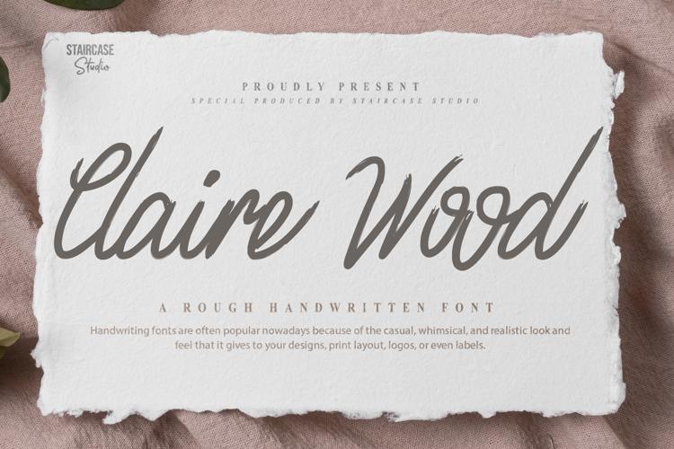 Claire Wood Font