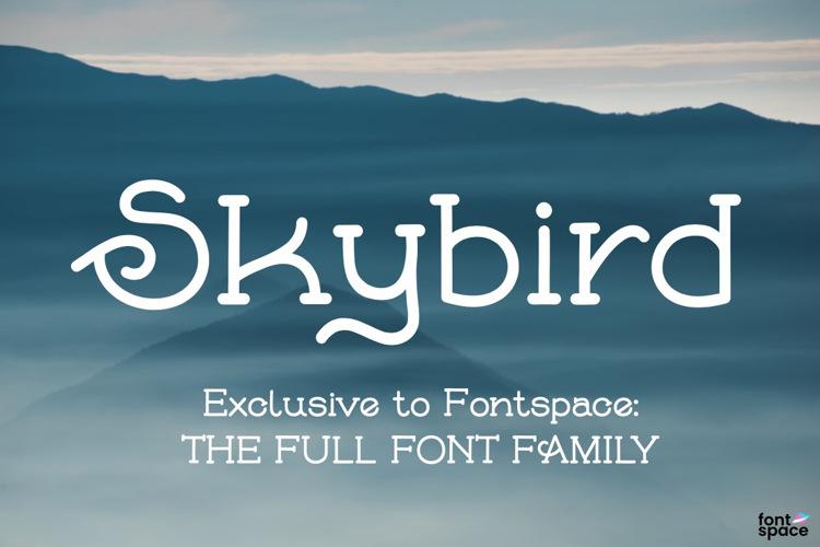 Skybird Family Font