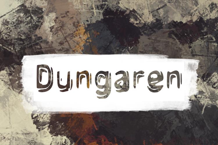 d Dungaren Font
