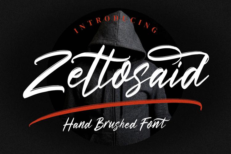 Zettosaid Font