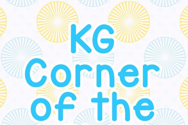 KG Corner of the Sky Font