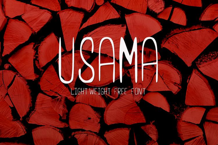 UsamaLight Font