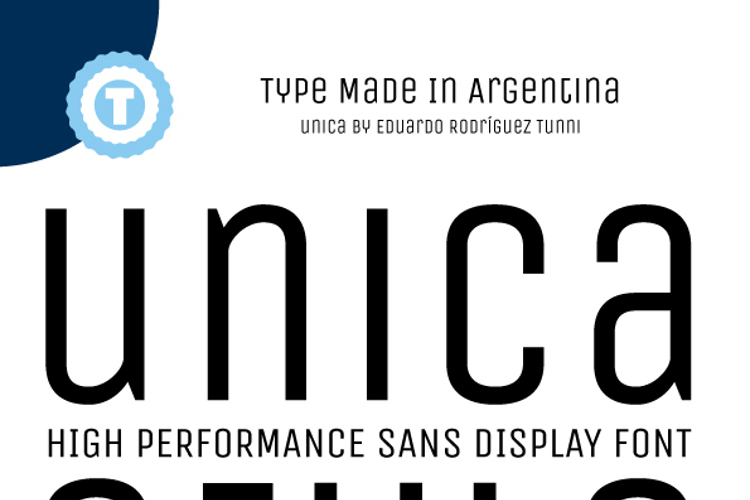 Unica One Font