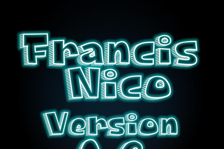 Francis Nico V 0.2 Font