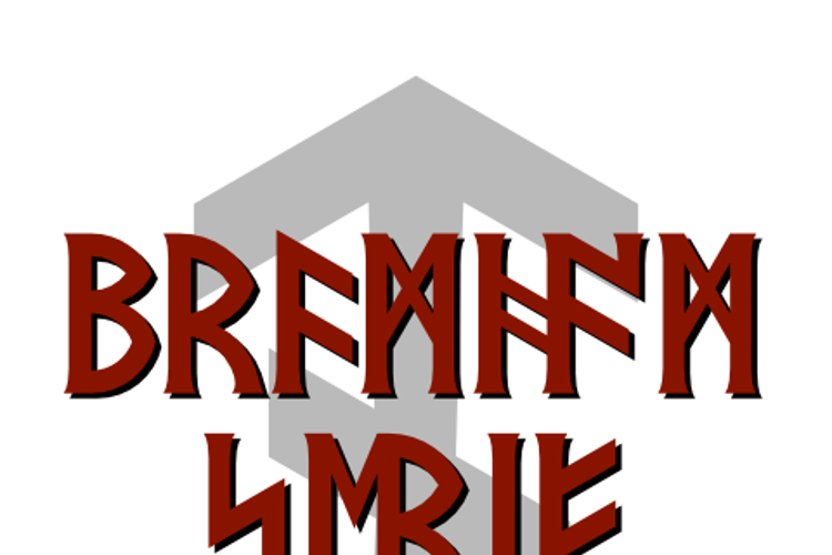 Bramham Serif Font