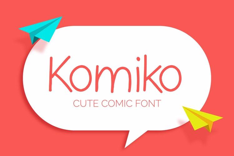 Komiko Font