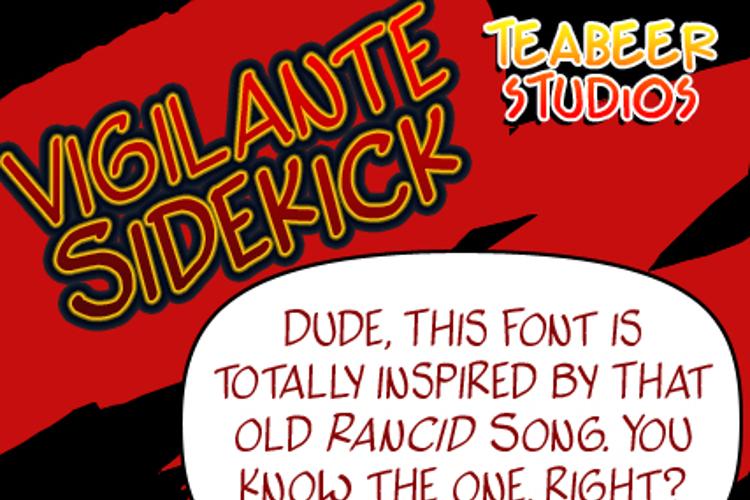 Vigilante Sidekick Font