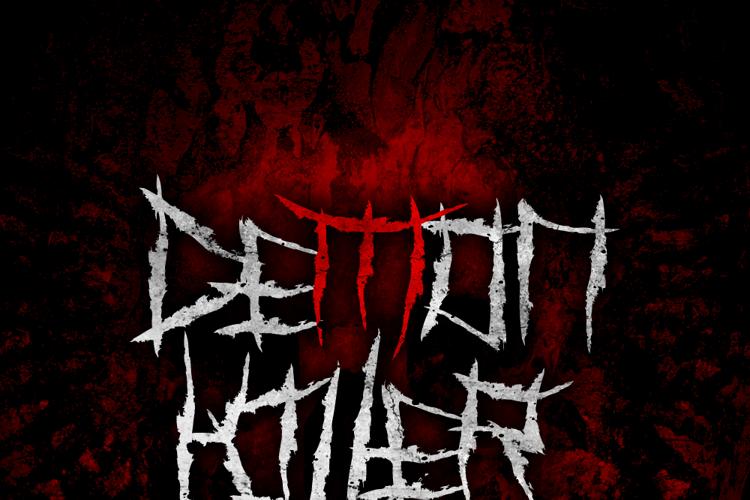 Demon Killer Font