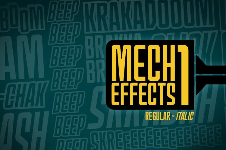 MechEffects1 BB Font