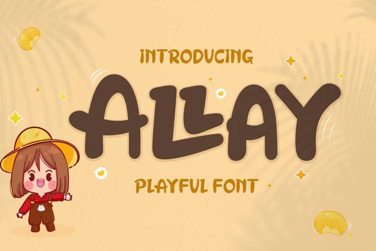 Allay Font