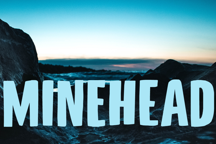 Minehead DEMO Font