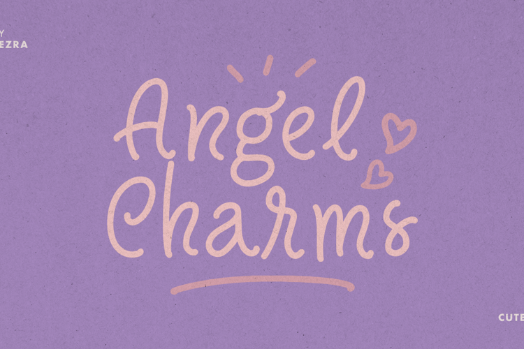 Angel Charms Font