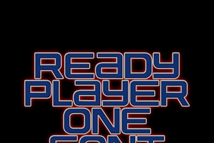 Ready Player One Font