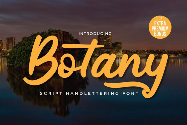 Botany Font