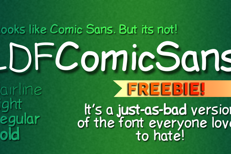 LDFComicSans Font