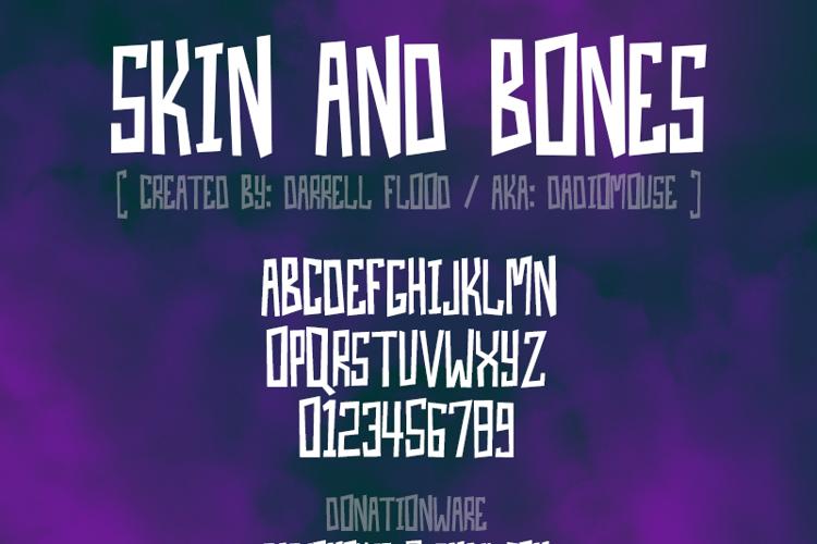 Skin And Bones Font