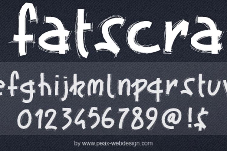 PWFatscratch Font