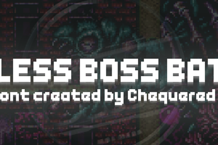 Endless Boss Battle Font