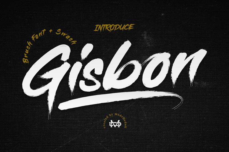 Gisbon Font