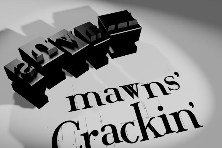 Crackin' Font