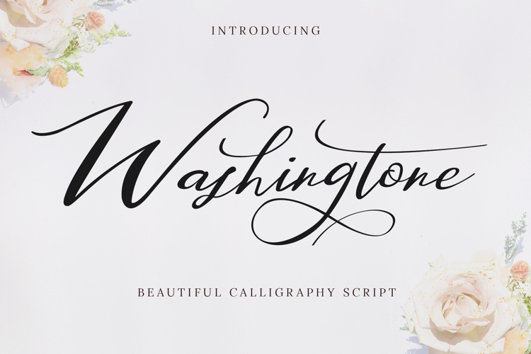 Washingtone Font