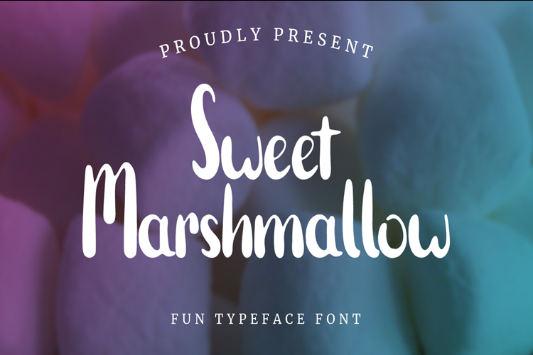 Sweet Marshmallow Font