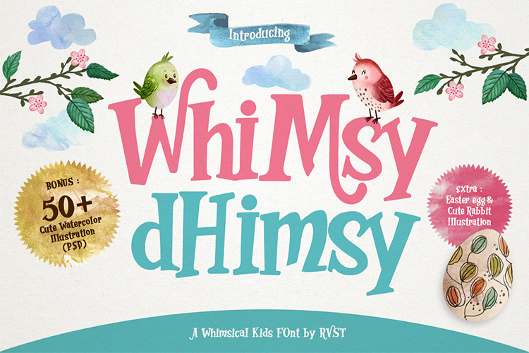 Whimsy Dhimsy Font