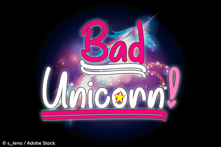 Bad Unicorn Font
