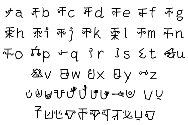 mantrakshar JI1 Font