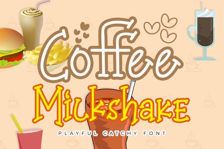 Coffee Milkshake Font