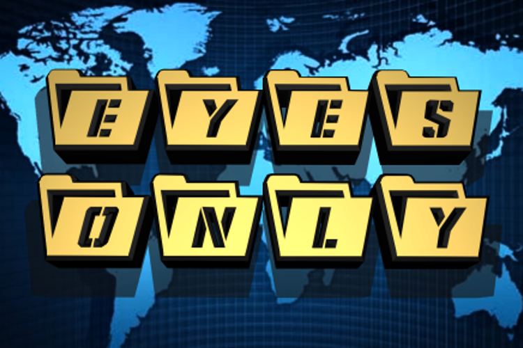 Eyes Only Font