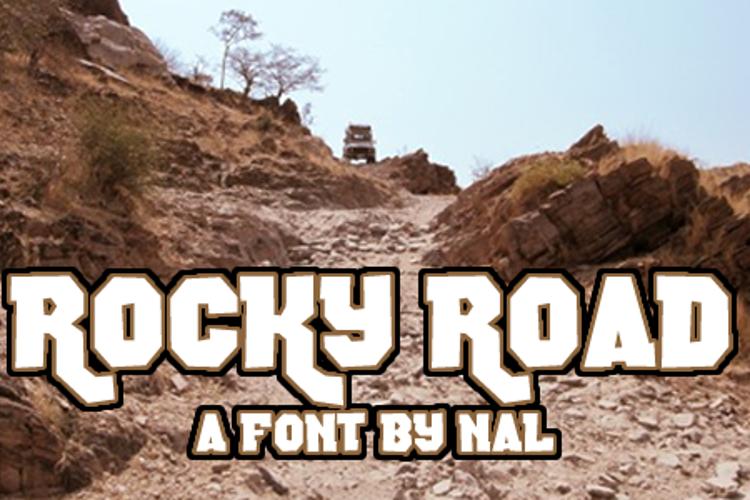 Rocky Road Font