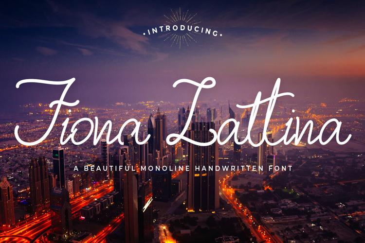Fiona Lattina Font