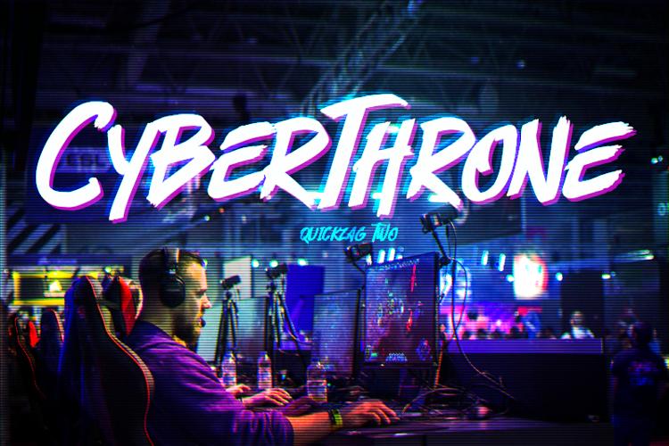 Cyberthrone Font
