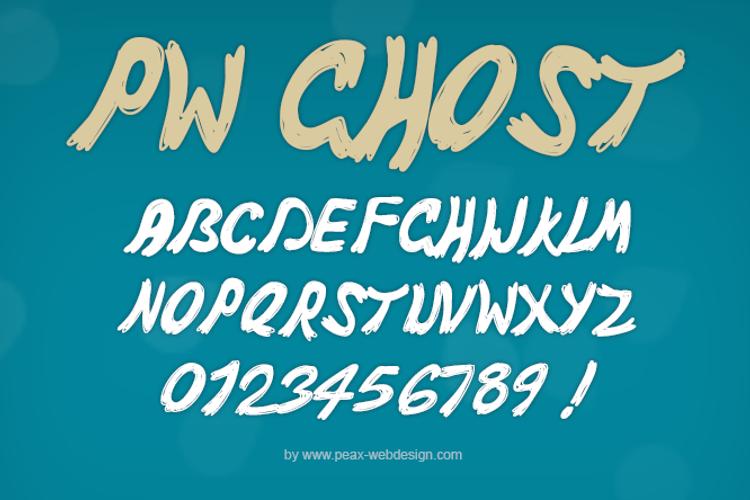 PWGhost Font