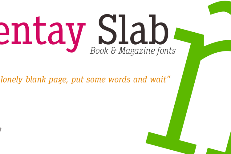 Pentay Book Font