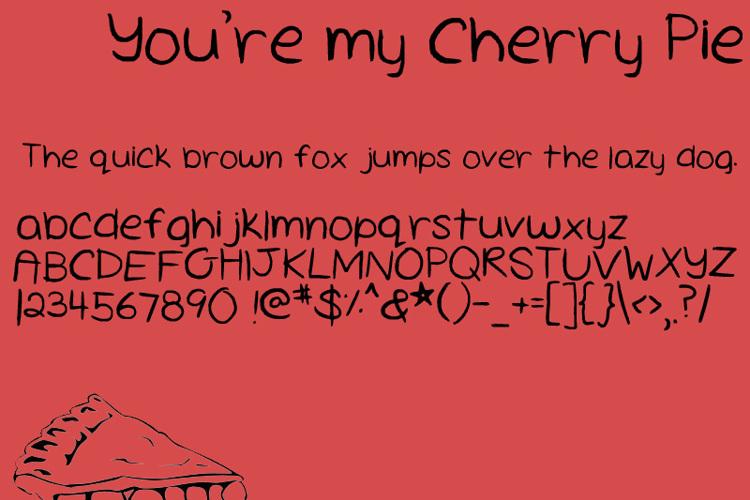 Cherry Pie Font