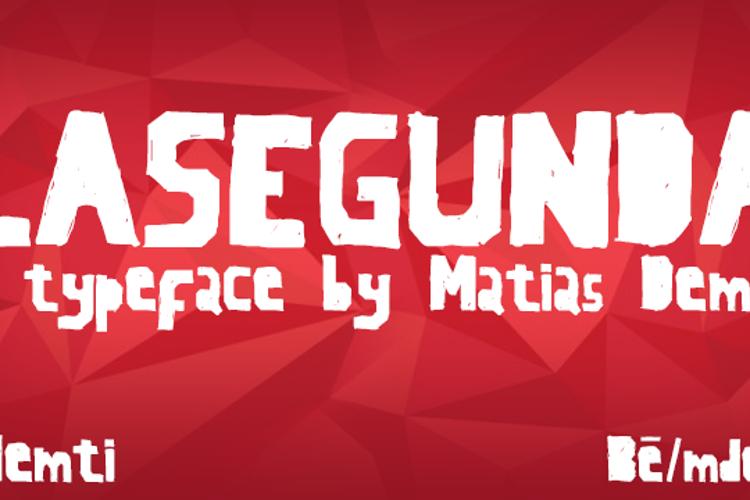LaSegunda Font