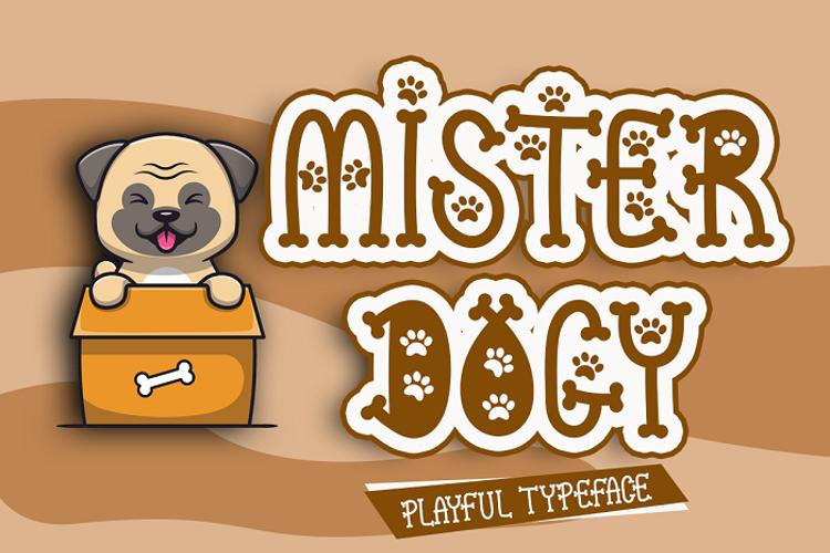 Mister Dogy Font