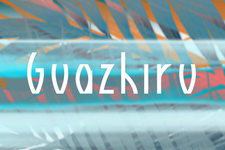 Guazhiru Font