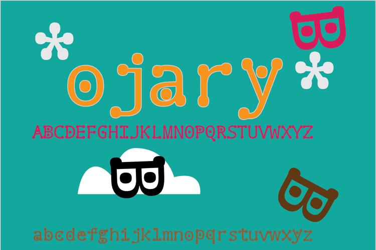 ojary Font