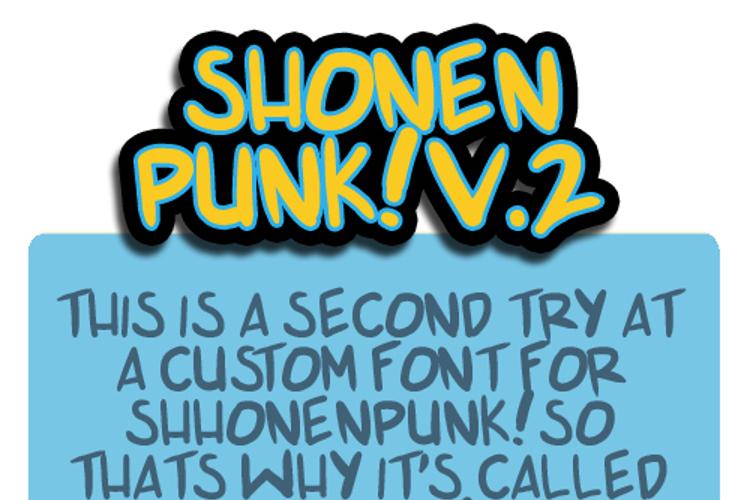 shonen punk v2 Font