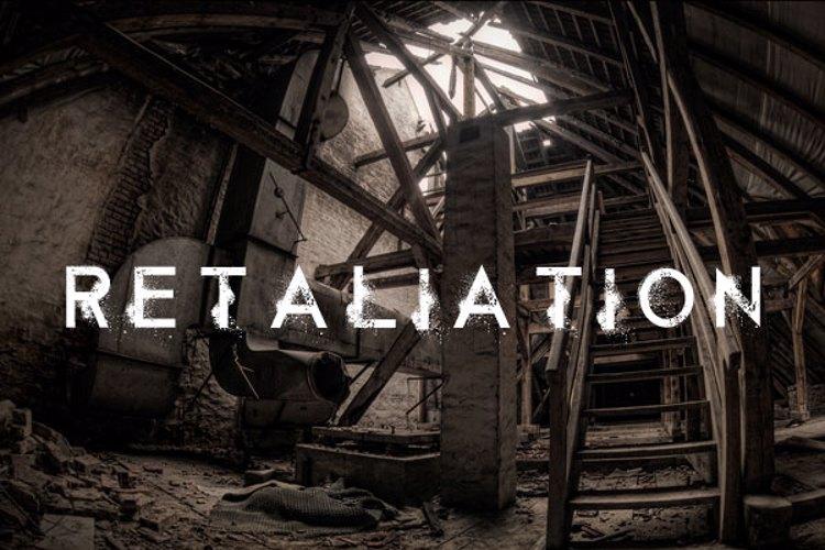 Retaliation Font